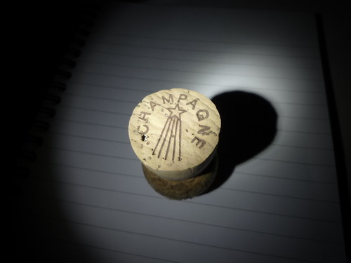 Champagne Cork in the Spotlight