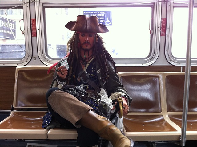 Found on the 27: Jack Sparrow