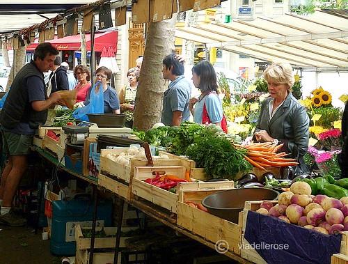 Au marché -