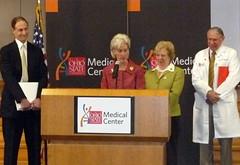 August, 2009: HHS Sec. Kathleen Sebelius, Rep....