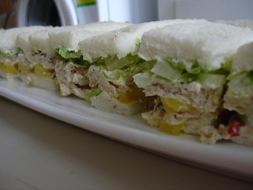 Golden Jubilee Chicken Sandwiches