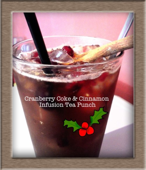 xx Cranberry Coke & Cinnamon Infusion Tea Punch xx