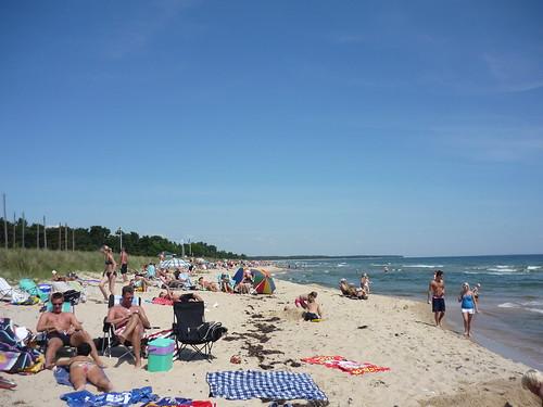 Skåne's east coast beaches to the north