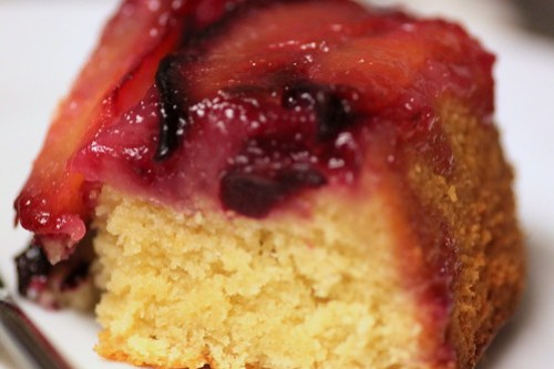 slice of plum kuchen