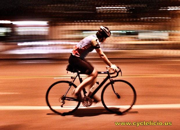 Friday Night cycling