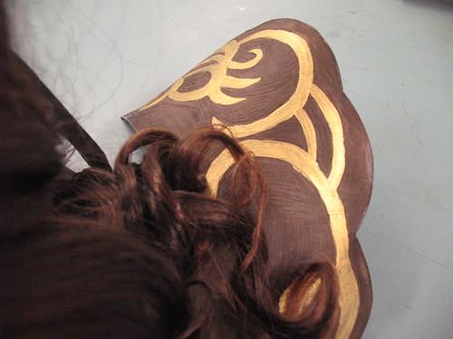 Xena outfit - shoulder piece