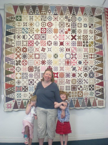 DJ and the Girls at Limerick Quilt Show