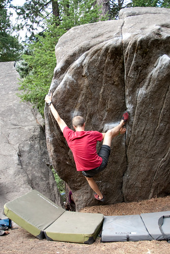 We even got creative. Barneys Rubble, Alcove Left, V3.