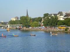 Museumsuferfest Frankfurt und Drachenbootrennen