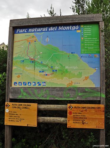 Montgó, rutas