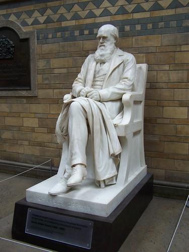 Darwin statue, Natural History Museum, London