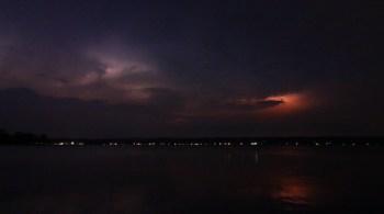 Lightning on Chautauqua Lake