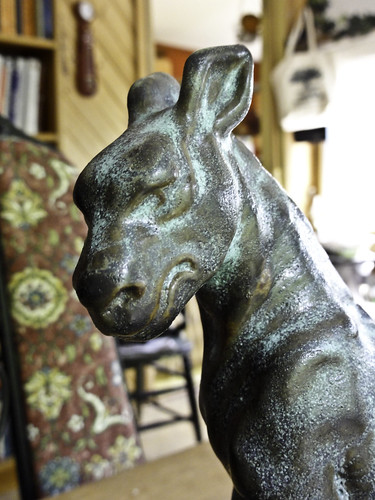 dog gargoyle by linda saboe