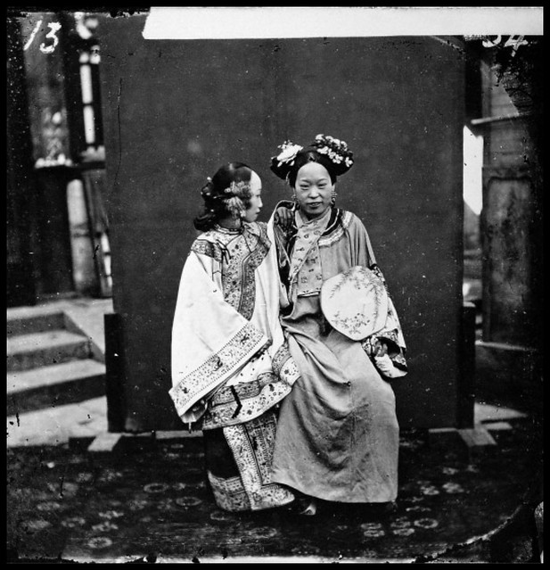 Manchu Bride In Her Wedding Clothes, Peking, Pechili Province, China [1871] John Thomson