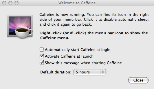 Welcome to Caffeine