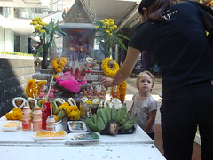 Siam Centre shrine 3