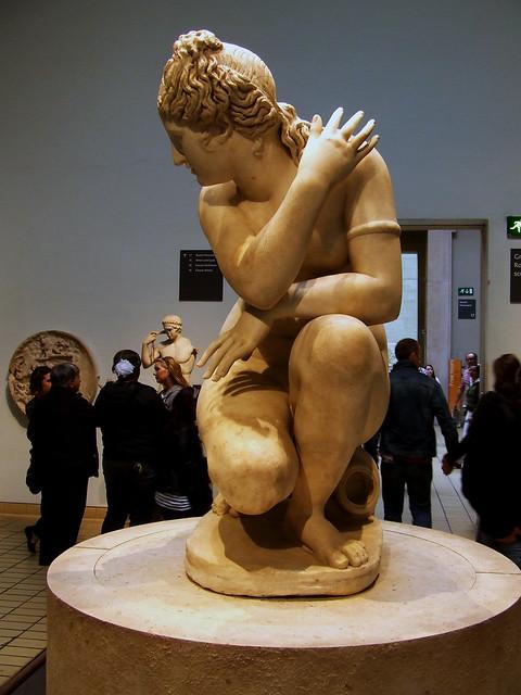 shy statue