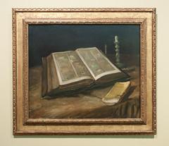 Stilleven met bijbel, Vincent van Gogh (1885)