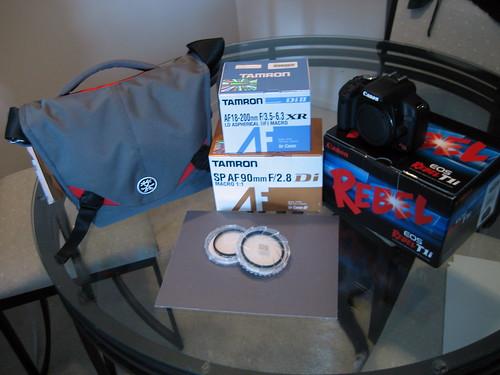 new camera gear