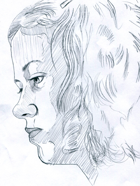 Ms. M.S. sketch