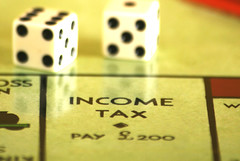 Income tax. Image by alancleaver_2000 via Flickr