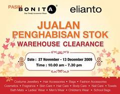 Bonita & Elianto clearance sales