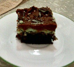 Ande's Mint Brownies