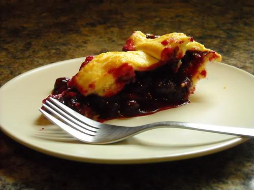 Blueberry Pie slice