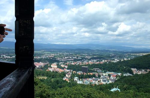 Diana Tower: Karlovy Vary