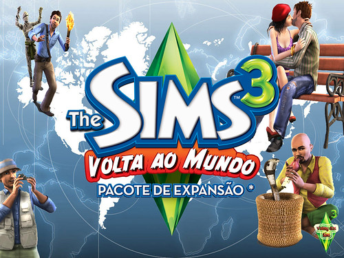 Valley dos Sims - fanmade wallpaper from The Sims 3 World Adventures