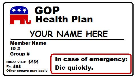 GOP Health Plan: 'Nothing, zero, nada.'