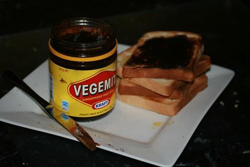 Vegemite on Toast (on Plate)