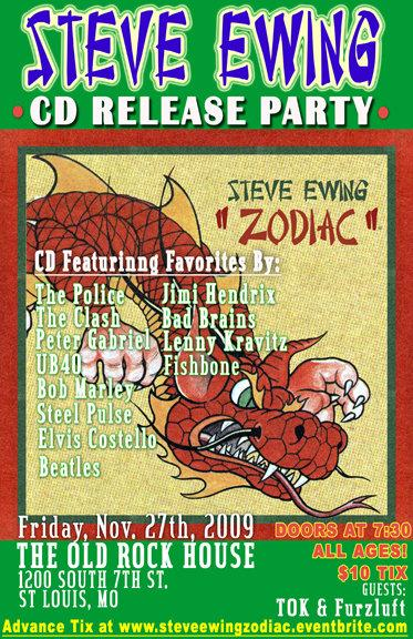 Steve Ewing CD Party