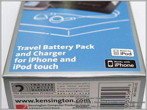 Kensington 33456 Travel Battery Pack
