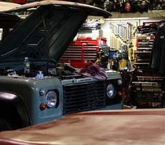 Land Rover Workshop