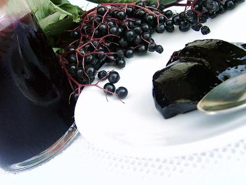 gelatina di bacche di sambuco1