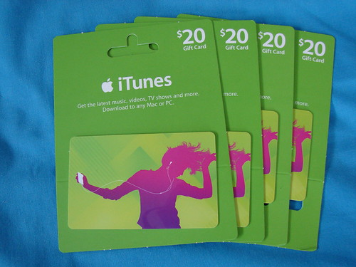 iTunes Gift Cards by yum9me, on Flickr