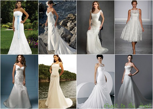 Wedding Dress Wednesday  necklines
