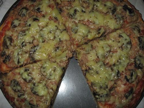 Pizza Tuna Jamur