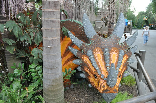 LEGOLAND Dino Island triceratops