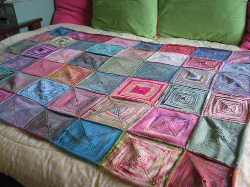 Sock Yarn Afghan