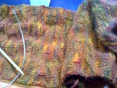 stagger rib scarf