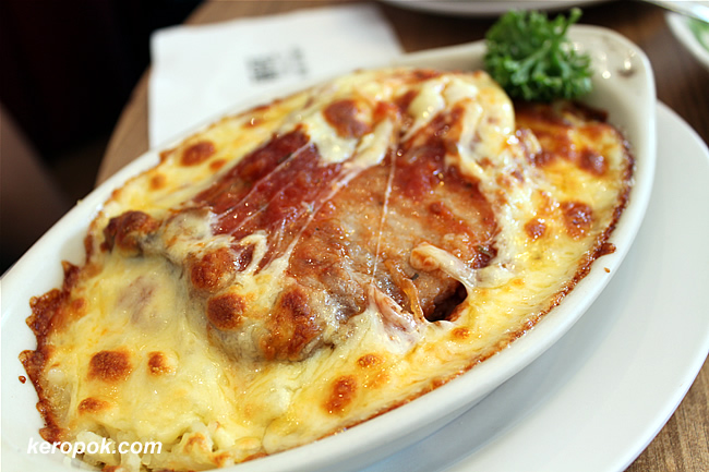 Baked Rice - Pork Chop
