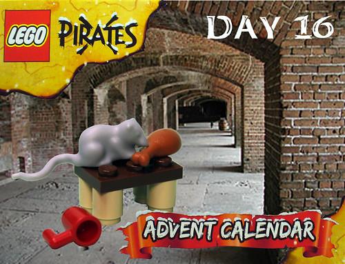 Pirate Advent Calendar Day 16