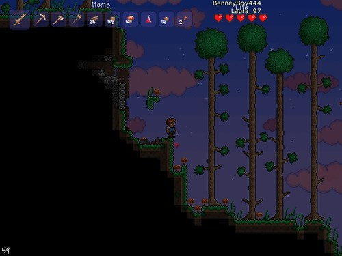 Terraria - Tall Trees