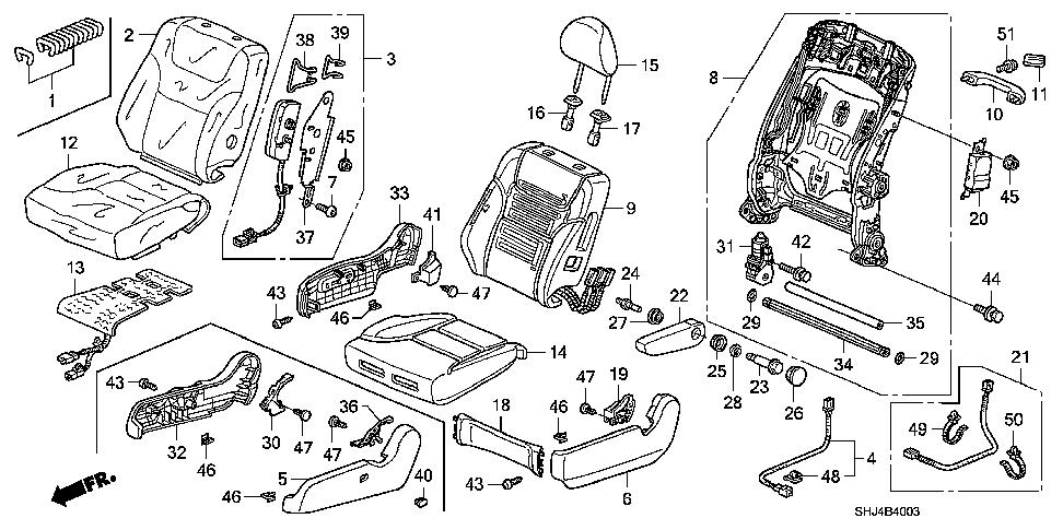 Driver's Seat Assembly Diagram Anyone? Yet another issue...
