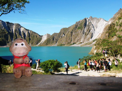 Mt. Pinatubo Crater Lake