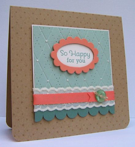 Finalist 2: Lizzie Jones So Happy for You Card