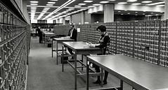 Perkins Library Card Catalog, 1969
