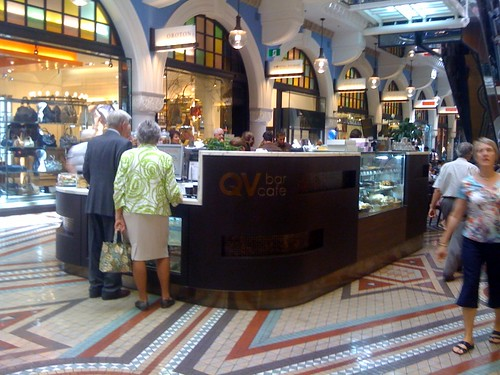 QV bar cafe, Sydney